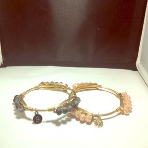 Bourbon and Boweties beaded bangles